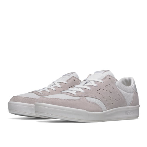 New Balance 300 Suede Men's Court Classics Shoes - White (CRT300FF)