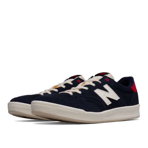 New Balance 300 Men's Shoes - Pigment / Red (CRT300GB)