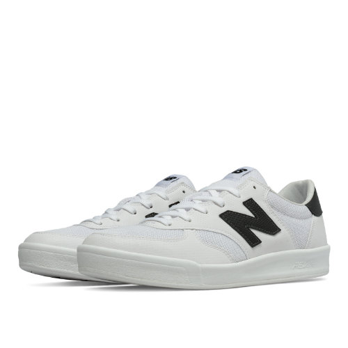 New Balance 300 Men's Shoes - White / Black (CRT300GH)