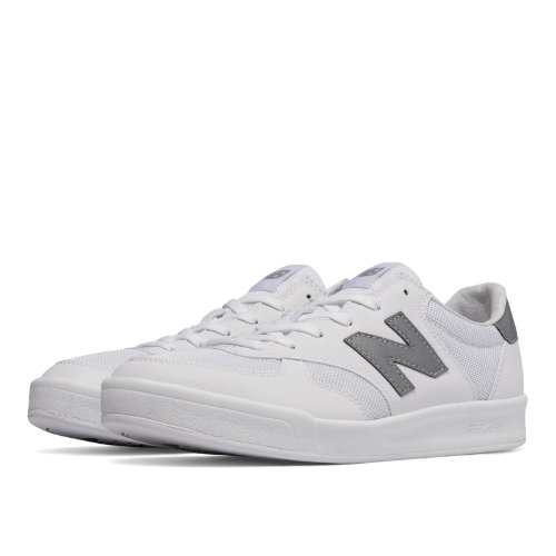 New Balance 300 Men's Shoes - White / Silver (CRT300GJ)
