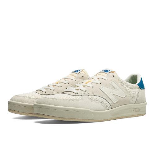New Balance 300 Vintage Men's Court Classics Shoes - Off White ...