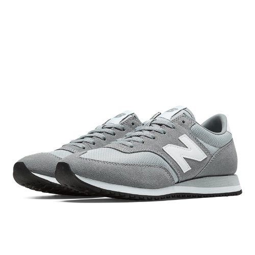 New Balance 620 Women's Running Classics Shoes - Grey, Light Grey (CW620GRY)