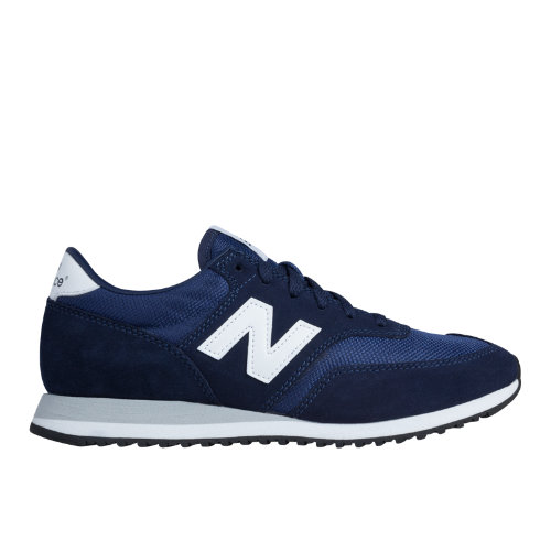 New Balance 620 Women's Running Classics Shoes - Navy, White (CW620NVY)
