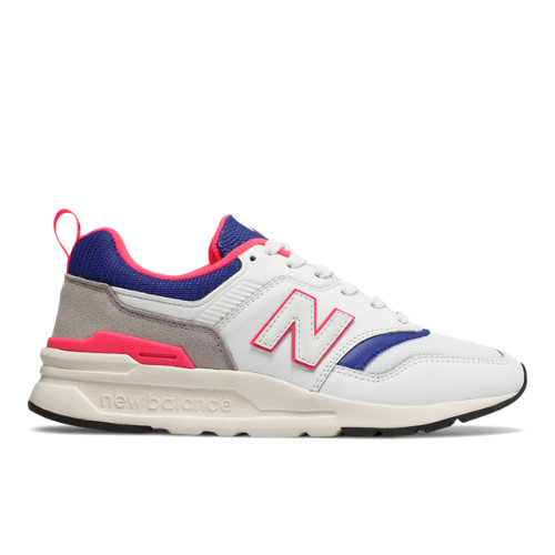 New Balance 997H Women's Classics Shoes - White / Blue (CW997HAJ)