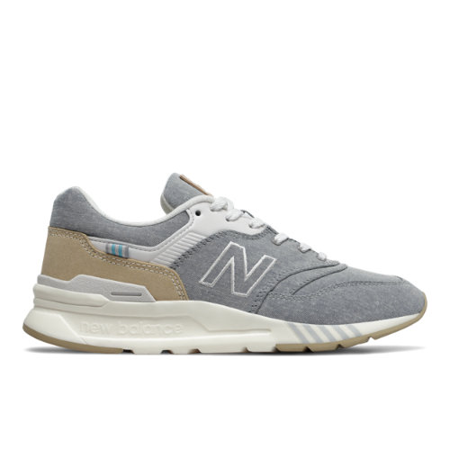 New Balance 997H Women's Classics Shoes - Silver (CW997HBH)