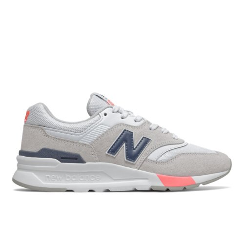 New Balance 997H Women's Lifestyle Shoes - Grey / Navy (CW997HVP)