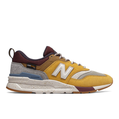 New Balance 997H Women's Shoes - Yellow / Purple (CW997HXE)