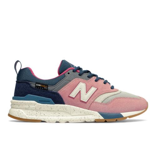 New Balance 997H Women's Classics Shoes - Grey / Pink (CW997HXF)