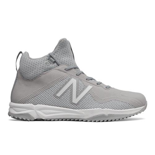 New Balance FreezeLX Turf Men's Lacrosse Shoes - Grey / White (FREEZTGW)