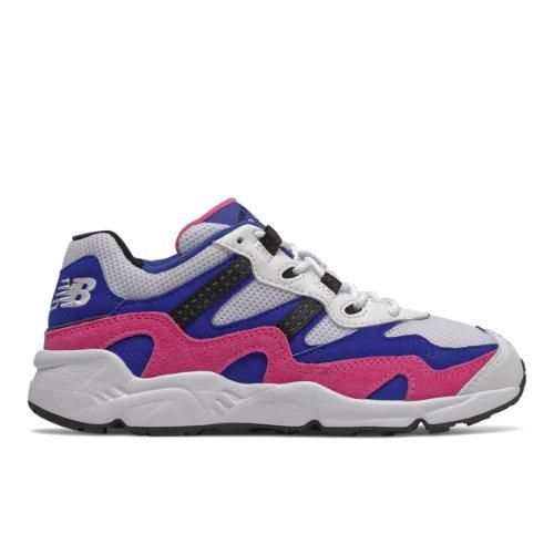 New Balance 850 Kids Grade School Lifestyle Shoes - White / Blue / Pink (GC850YSH)