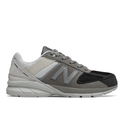 New Balance 990v5 Kids Lifestyle Shoes - Grey (GC990MN5)