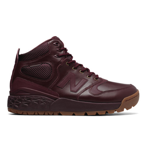 New Balance Fresh Foam Paradox Leather Men's Outdoor Sport Style Sneakers Boots - Chocolate Cherry (HFLPXCC)