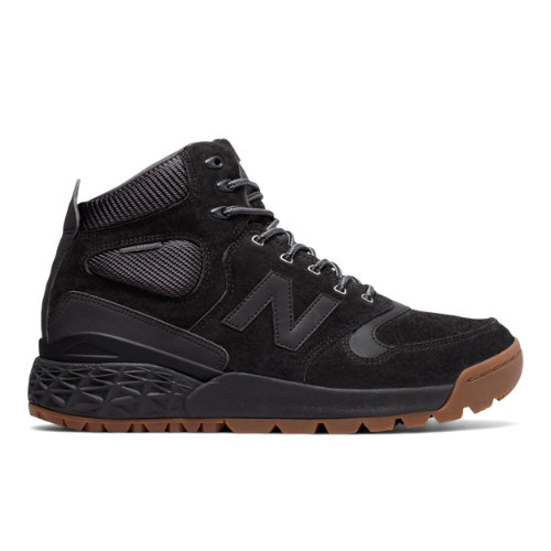 New Balance Fresh Foam Paradox Suede Men's Outdoor Sport Style Sneakers Boots - Black (HFLPXPH)