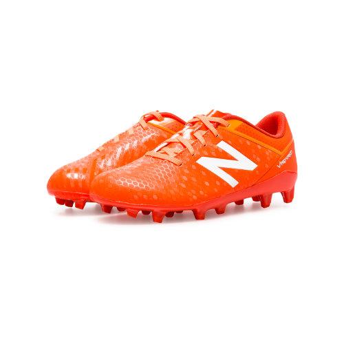 New Balance Junior Visaro Control FG Kids Visaro Shoes - Orange / Yellow / Red (JSVRCFLF)