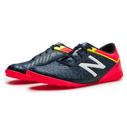 New Balance Junior Visaro Control TF Kids Grade School Sports Shoes - Navy / Red / Yellow (JSVRCTGC)