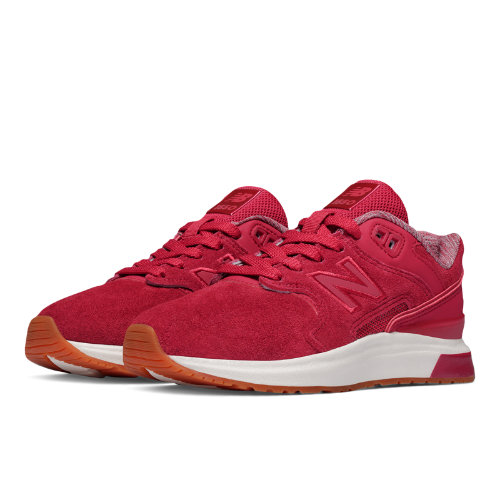 New Balance 1550 Suede Kids Grade School Lifestyle Shoes - Red (K1550SRG)