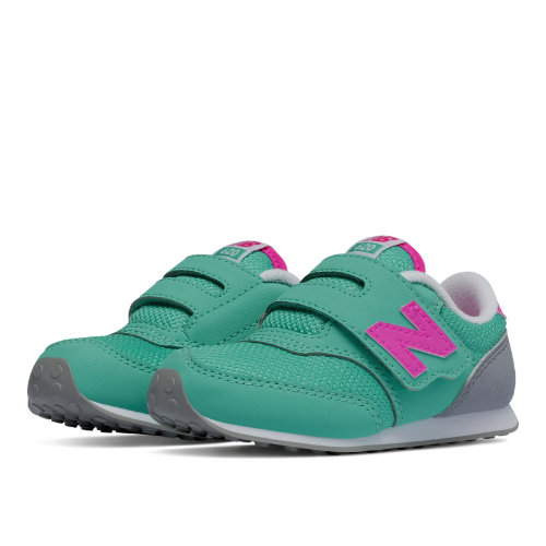 New Balance 620 Hook and Loop Kids Infant Lifestyle Shoes - Blue / Pink (K620API)