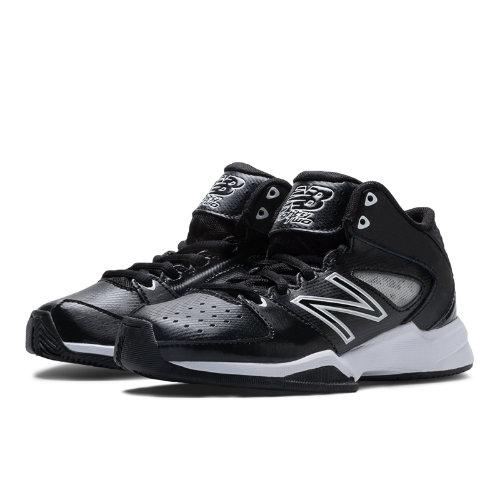 New Balance Basketball 82 Kids Grade School Sports Shoes - Black / White (KB82BWY)
