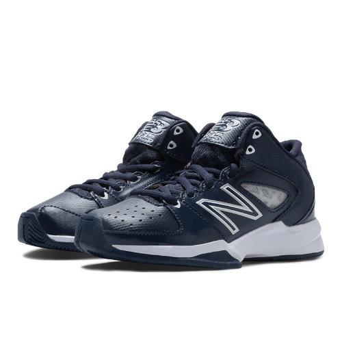 New Balance Basketball 82 Kids Grade School Sports Shoes - Navy / White (KB82NVY)