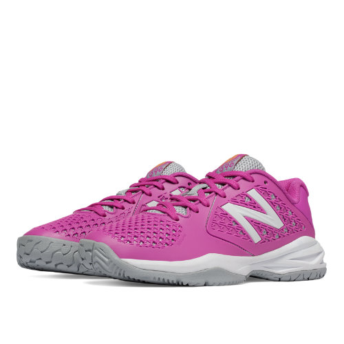 New Balance Tennis 996v2 Kids Grade School Sports Shoes - Pink / White (KC996PIY)