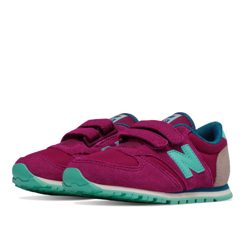 New Balance 420 Hook and Loop Kids Infant Lifestyle Shoes - Purple / Blue (KE420PAI)