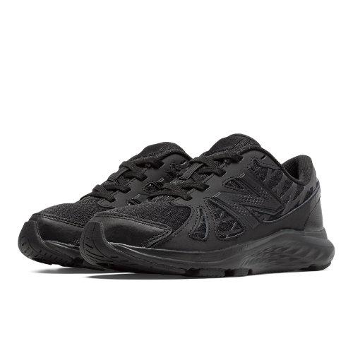 New Balance 690v4 Kids Grade School Running Shoes - Black (KJ690TBY)