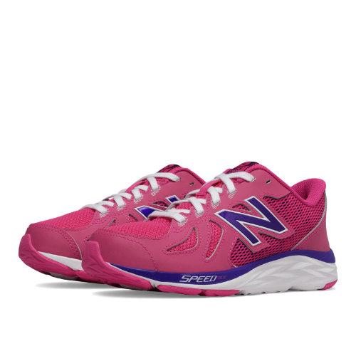 New Balance 790v6 Kids Grade School Running Shoes - Pink / Purple (KJ790PIY)
