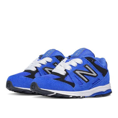 New Balance 888 Kids Infant Running Shoes - Blue / Black (KJ888BBI)