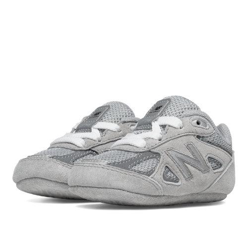 New Balance 990v4 Kids Crib (size 0 - 4) Shoes - Grey (KJ990GLC)