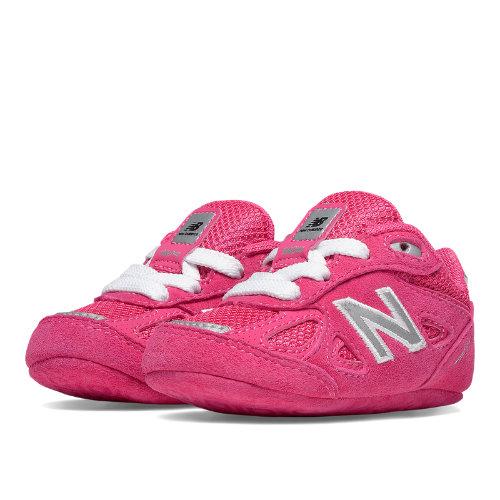 New Balance 990v4 Kids Crib (size 0 - 4) Shoes - Pink (KJ990PEC)