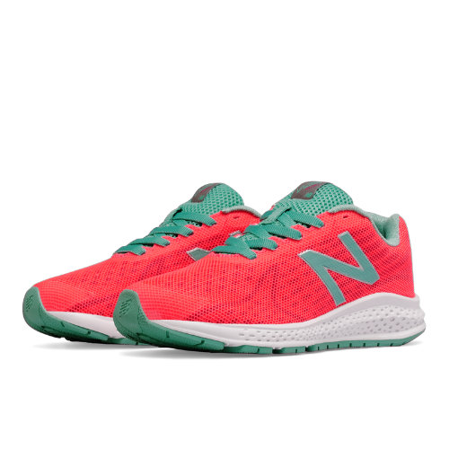 New Balance Vazee Rush v2 Kids Grade School Running Shoes - Pink / Green (KJRUSGPG)