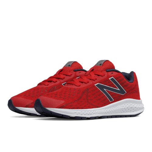 New Balance Vazee Rush v2 Kids Pre-School Running Shoes - Red (KJRUSRYP)