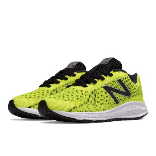 New Balance Vazee Rush v2 Kids Grade School Running Shoes - Yellow / Black (KJRUSYBG)