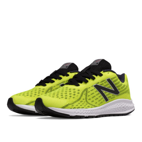 New Balance Vazee Rush v2 Kids Pre-School Running Shoes - Yellow / Black (KJRUSYBP)