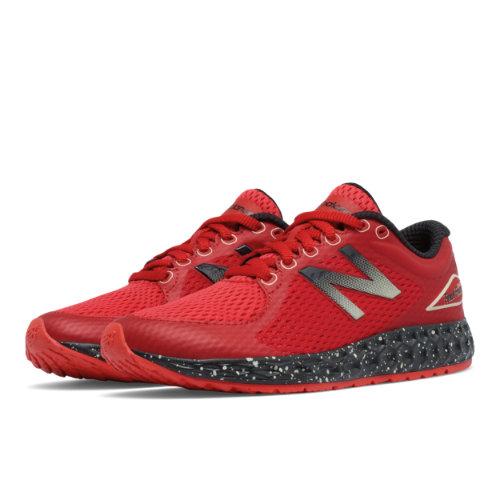 New Balance Fresh Foam Zante v2 Kids Grade School Running Shoes - Red / Black (KJZNTRSY)