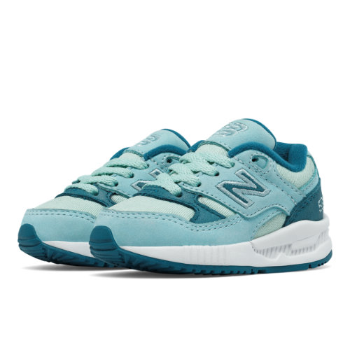 New Balance 530 Canvas Wax Kids Infant Lifestyle Shoes - Blue (KL530STI)