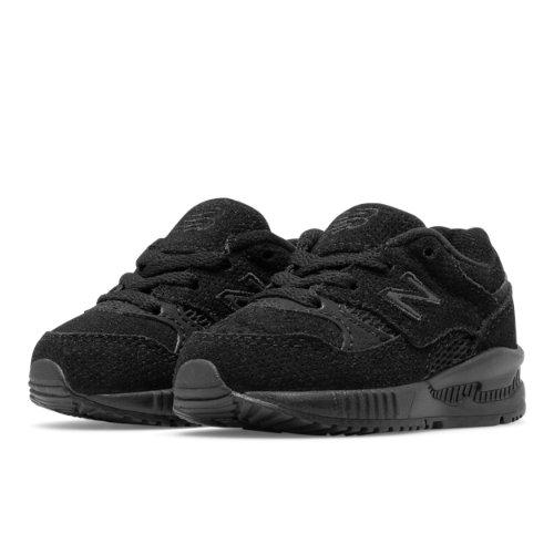 New Balance 530 Kids Infant Lifestyle Shoes - Black (KL530TBI)