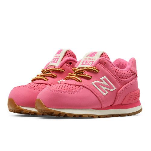 new blance 574 kids pink