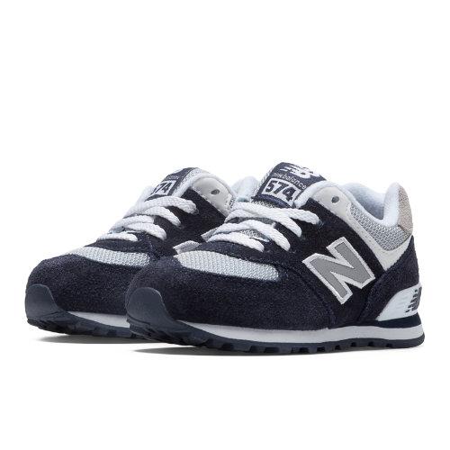 New Balance 574 Kids Infant Lifestyle Shoes - Navy / Grey / White (KL574NWI)