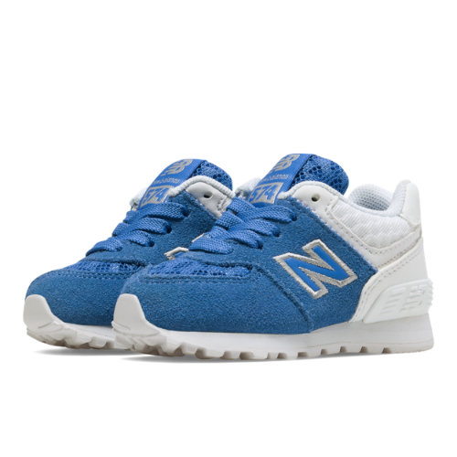 New Balance 574 Breathe Kids Infant Lifestyle Shoes - Blue / White (KL574QBI)
