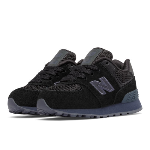 New Balance 574 Urban Twilight Kids Infant Lifestyle Shoes - Black (KL574UBI)