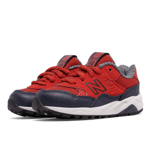 New Balance 580 Kids Infant Lifestyle Shoes - Red / Navy (KL580A2I)