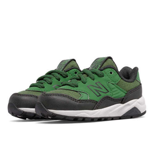 New Balance 580 Kids Infant Lifestyle Shoes - Green / Black (KL580A3I)