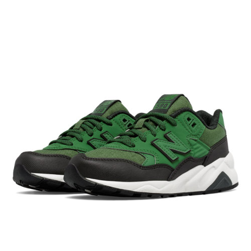 New Balance 580 Kids Pre-School Lifestyle Shoes - Green / Black (KL580A3P)