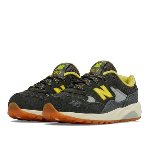New Balance 580 Wanderlust Kids Infant Lifestyle Shoes - Green / Yellow (KL580WYI)