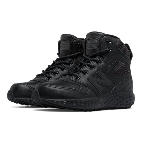 New Balance Fresh Foam Paradox Kids Pre-School Lifestyle Shoes - Black (KLPXBTBP)