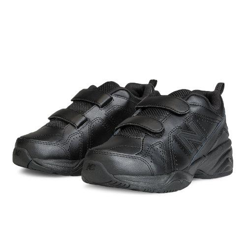 New Balance 624v2 Kids Grade School Cross-Training Shoes - Black (KV624BKY)