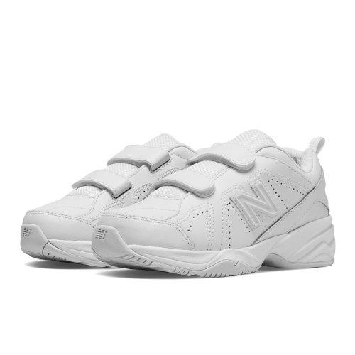 New Balance 624v2 Kids Grade School Cross-Training Shoes - White (KV624WTY)