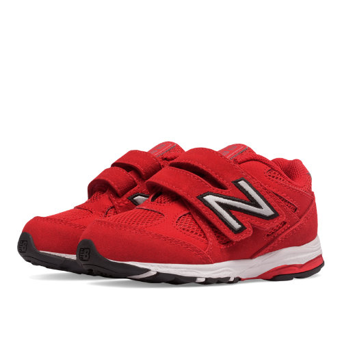 New Balance Hook and Loop 888 Kids Infant Running Shoes - Red / White (KV888BFI)