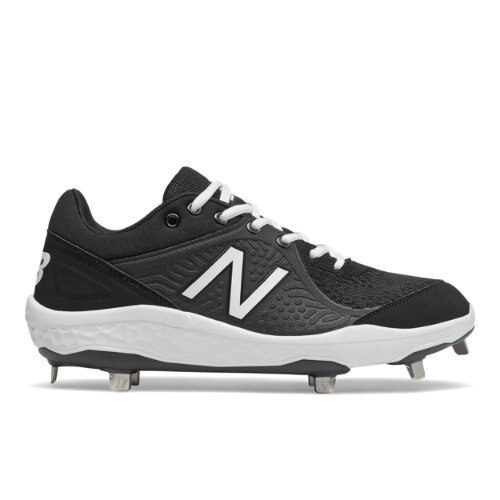 New Balance 3000v5 Fresh Foam Cleats Men's Baseball Shoes - Black / White (L3000BK5)